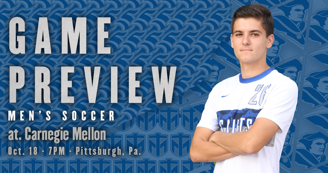 Men's Soccer to Take on Carnegie Mellon Tonight
