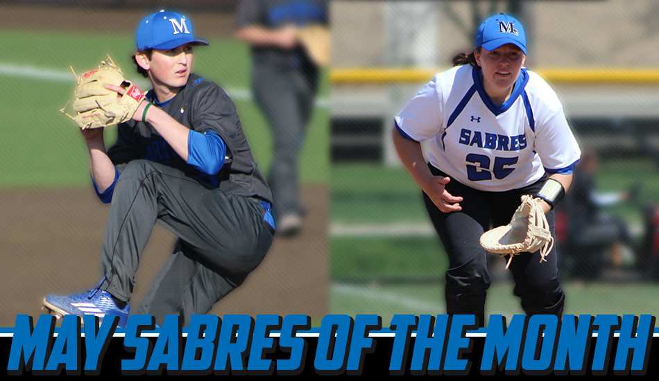 May Sabres of the Month graphic.