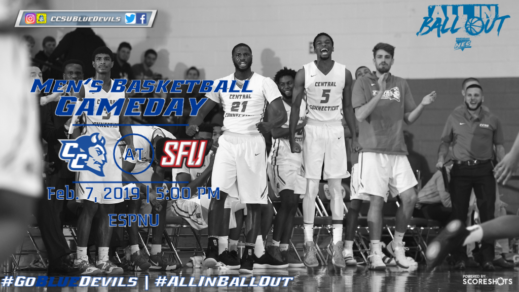 Men's Basketball Begins Road Trip at Saint Francis U on ESPNU Thursday
