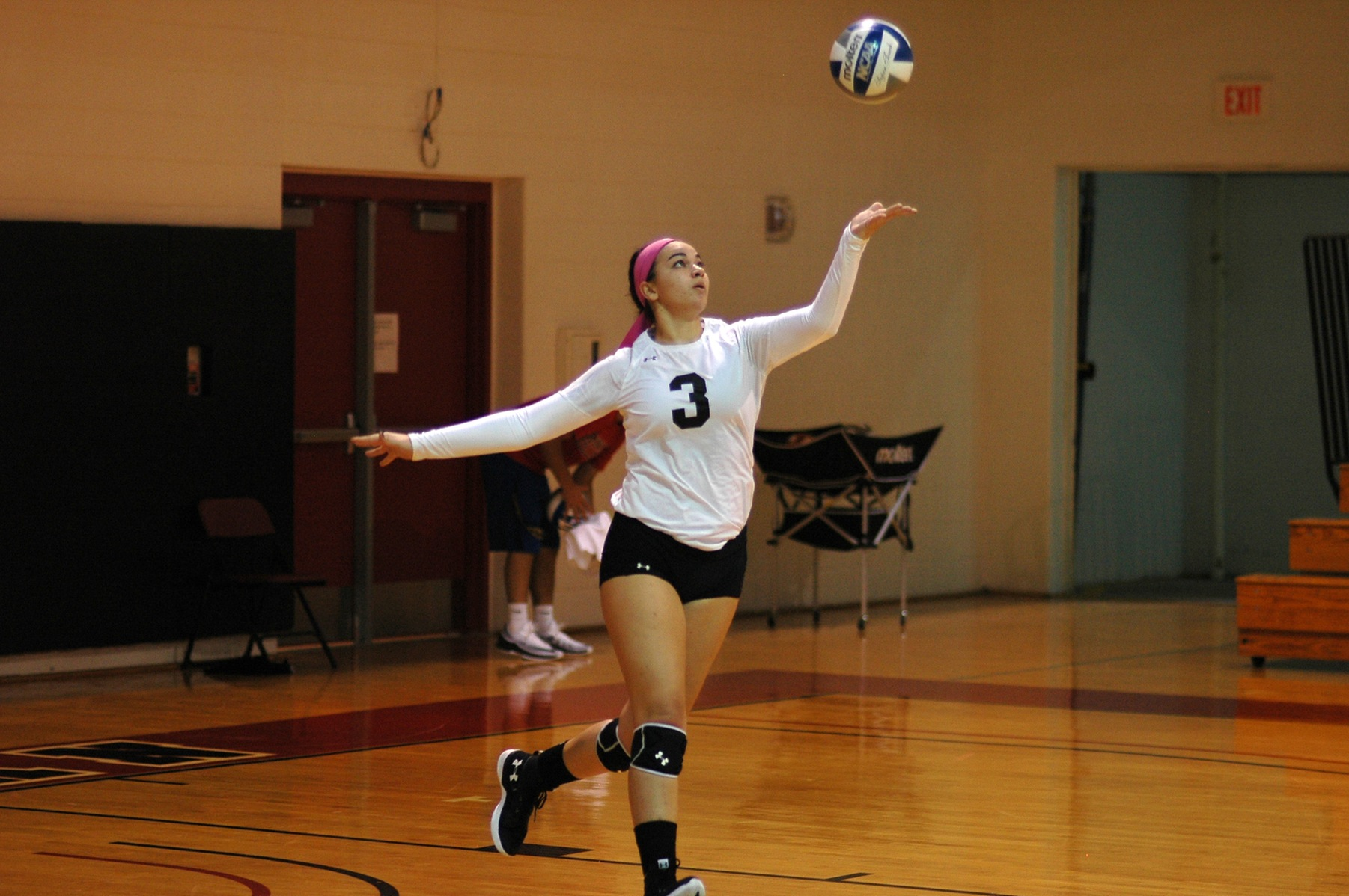 The Dominican College women's volleyball team opened up the season with two losses to Southern Connecticut State University and Pace University.