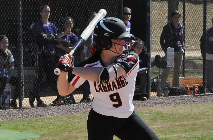 Softball: Panthers claim first USA South victory in splitting DH at Maryville