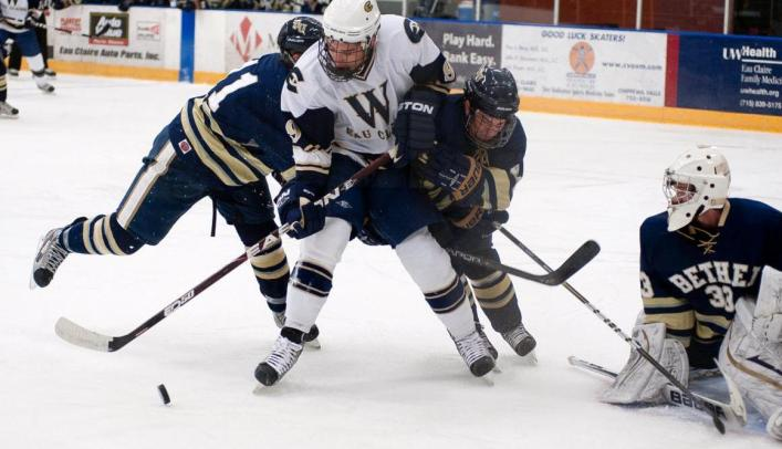 Men's Hockey Continues Perfection at Home