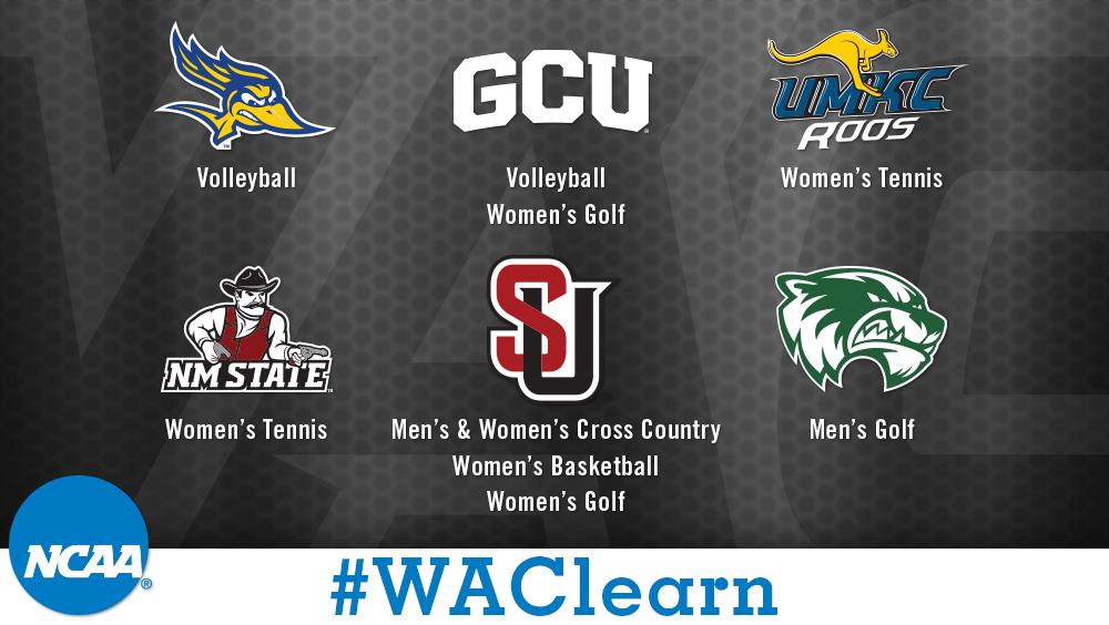 Ten WAC Programs Honored by NCAA with Public Recognition Awards