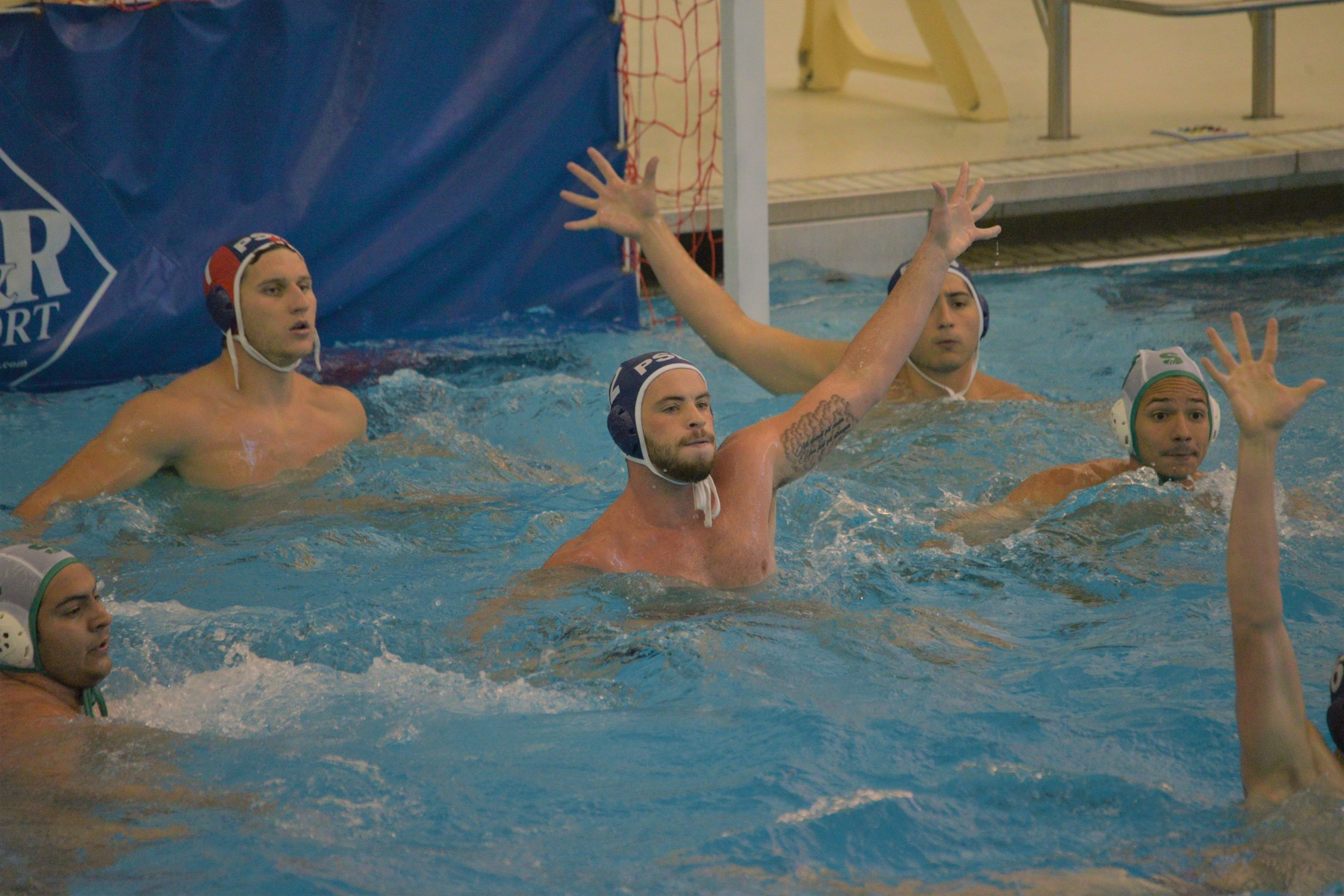 Men's Water Polo Takes Down Iona