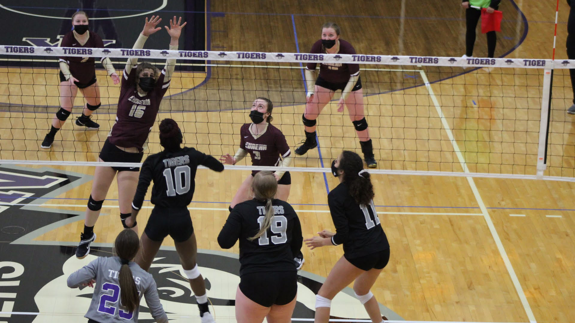 Eureka Volleyball Falls at Fontbonne, 3-0
