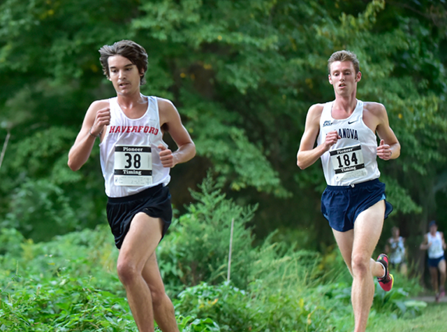 Men's Cross Country Finishes as Top Division III Team at Paul Short Run