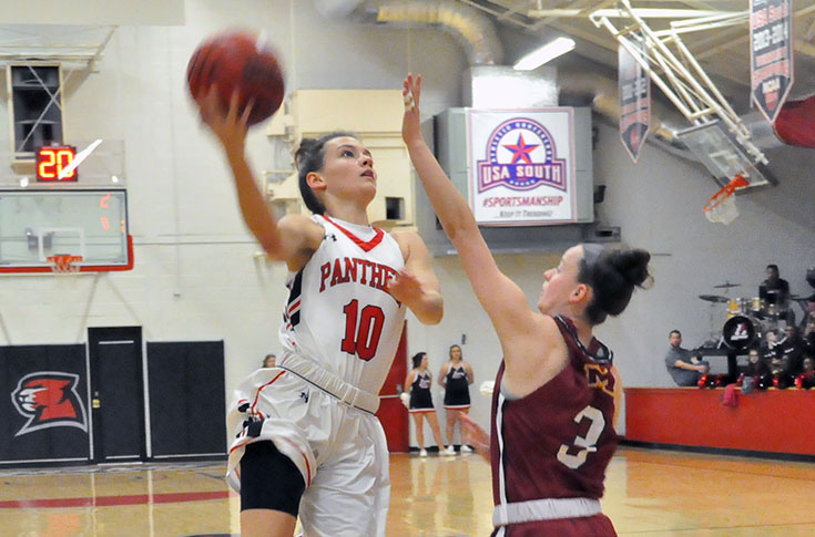 Women's Basketball: Maryville downs short-handed Panthers 74-60