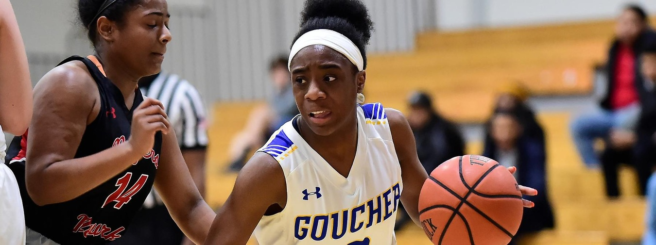 Goucher Women's Basketball Upended By Catholic On The Road