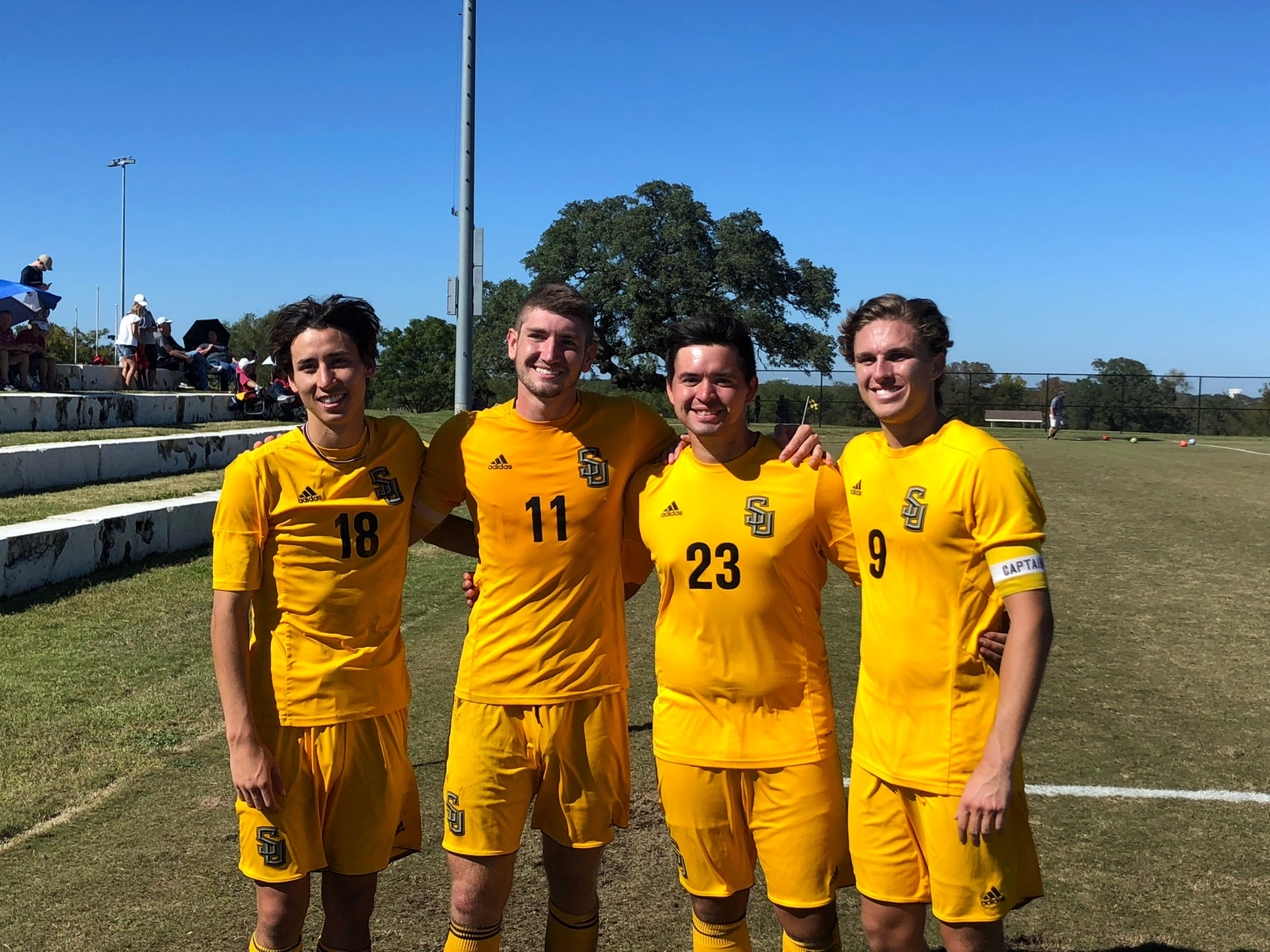 Men's Soccer Clinches Third Seed In The SCAC Championships