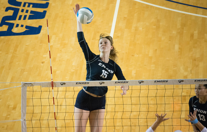 Emory Volleyball Sweeps Maryville