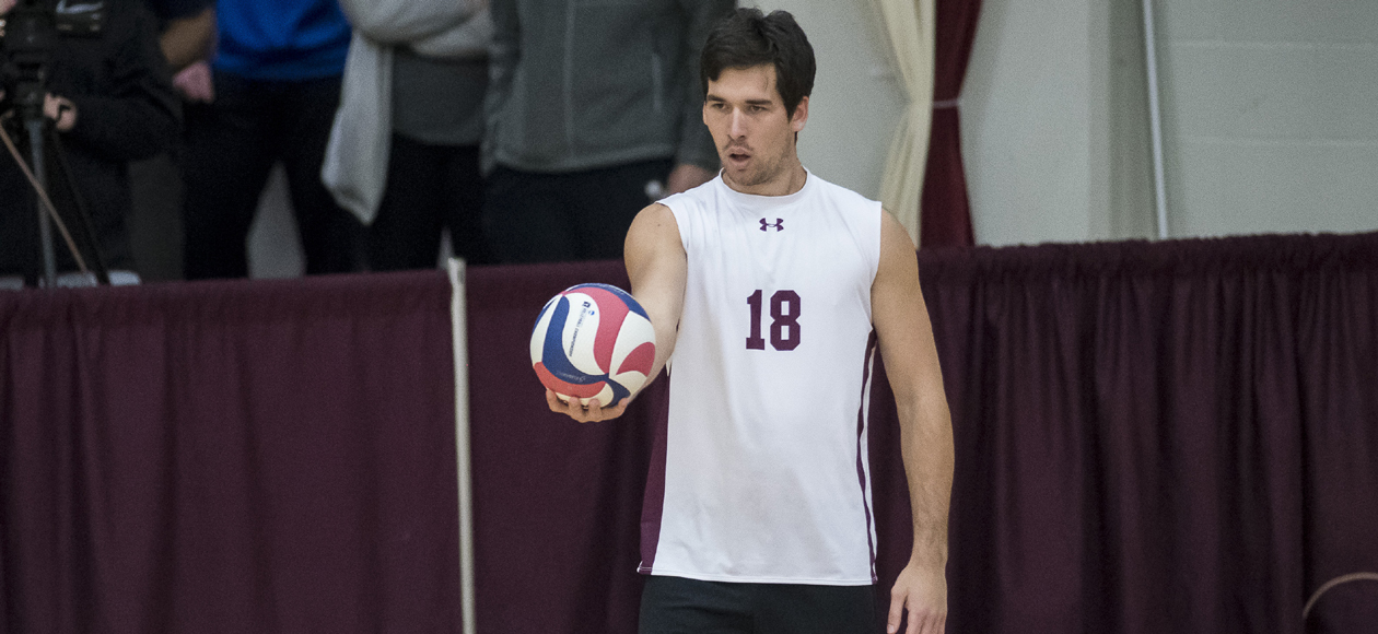 Top-Ranked Men's Volleyball Picks Up Four-Set Win at No. 14 Endicott