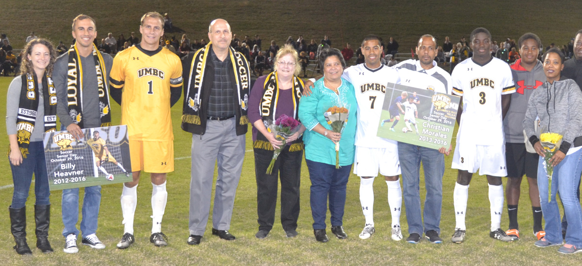 UMBC Men's Soccer Falls on Senior Day, 3-0 to Vermont