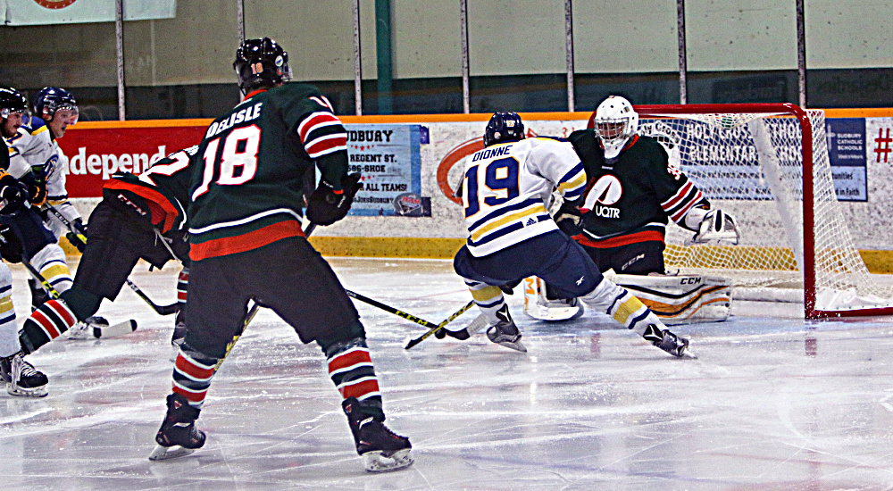 MHKY | Voyageurs Shut Out Warriors for First Win of 2017