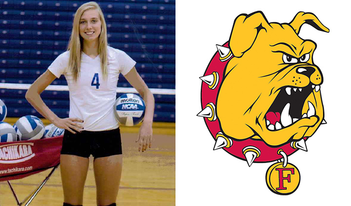 Local Product Hannah Guy Joins NCAA Regional Champion Ferris State Volleyball