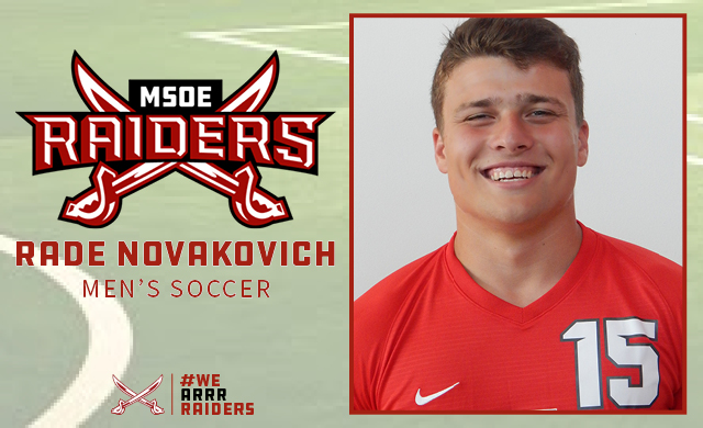 NACC Honors Novakovich as Player of the Week