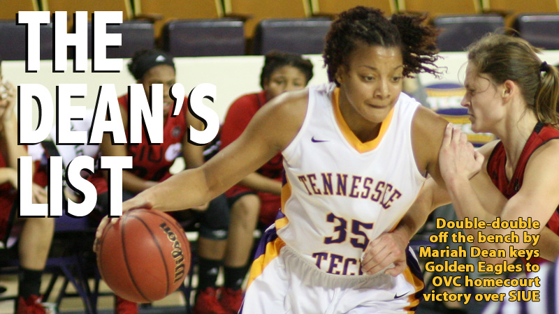 Double the pleasure: Two double-doubles help lead Tech women to win over SIUE