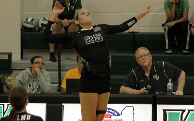 Allison Briley's 20-20 Not Enough As Wilmington Volleyball Falls, 2-1, at Chestnut Hill