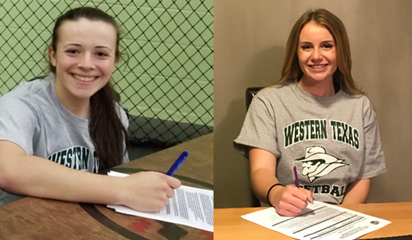 Softball Signs Canadians
