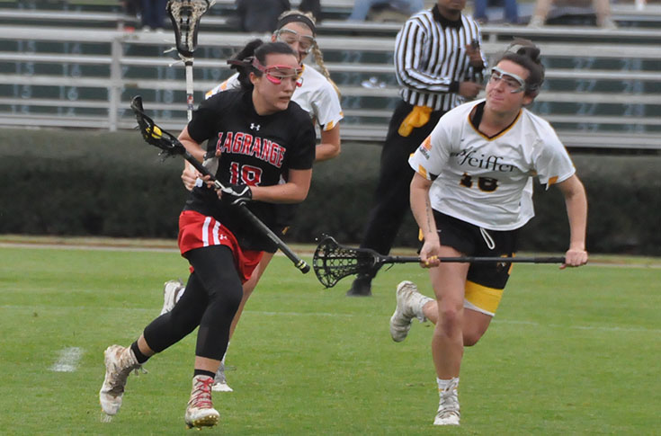 Lacrosse: Strong first half sends Pfeiffer past Panthers