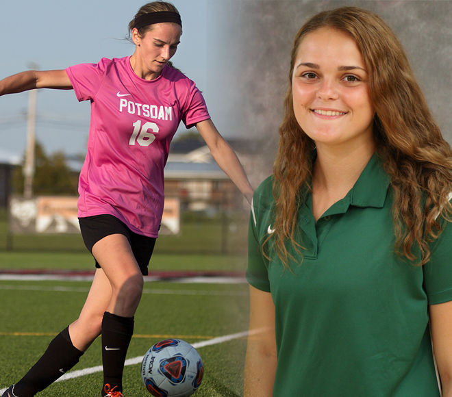 Falsion, Lubanski named Women's Soccer Athletes of the Week