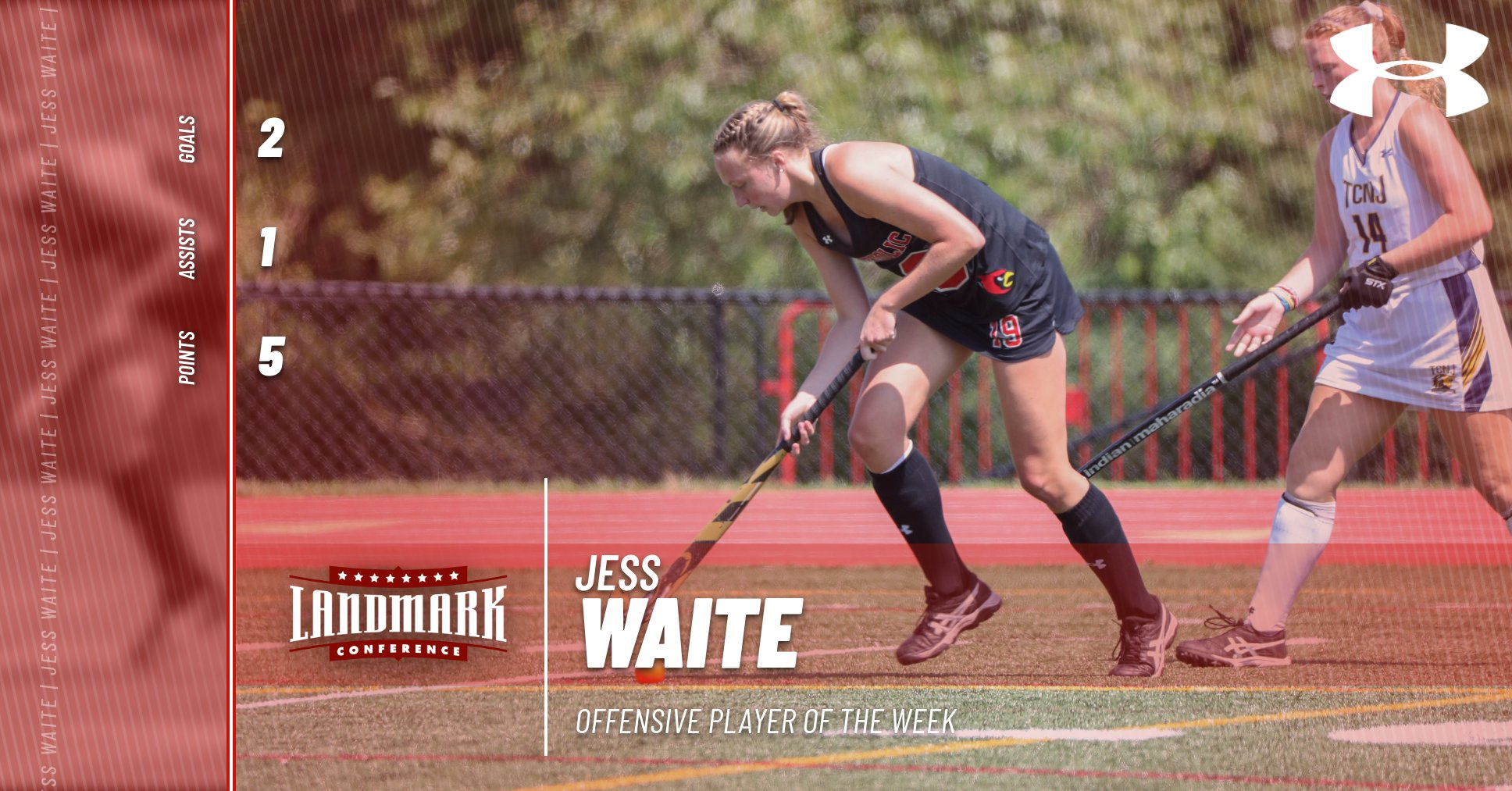 Waite Named Landmark Offensive Player of the Week