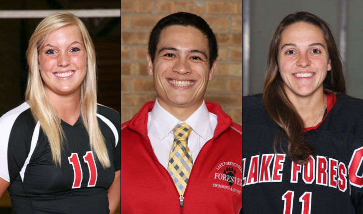 Lake Forest College Welcomes Assistant Coaches Paluch, Cooper and Korth