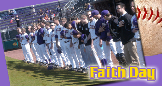 Golden Eagle baseball presents Faith Day at Bush Stadium