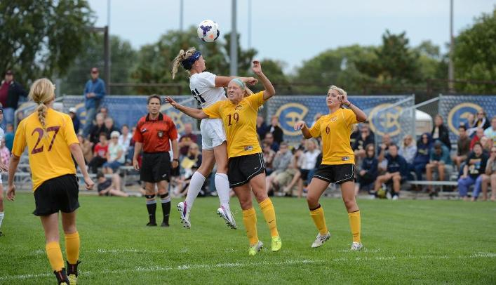 Blugolds Snap Five Game Winless Streak