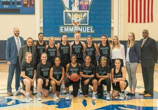 EMMANUEL WOMEN'S HOOPS PROGRAM INDUCTED INTO NE BASKETBALL HALL OF FAME