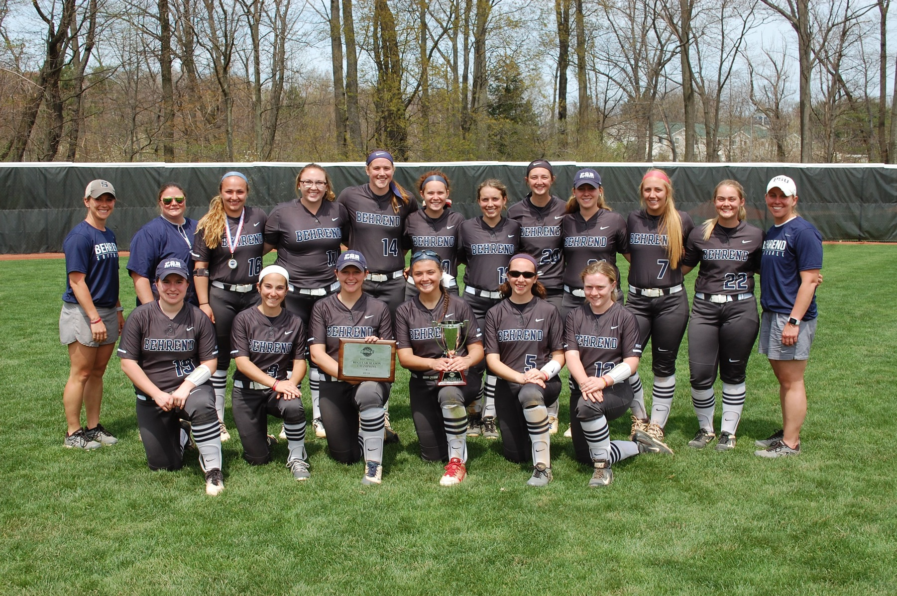 Softball Claims AMCC Runners-Up Trophy; Lions Fall to Mt. Aloysius in Title Game