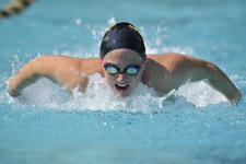 Women's Swimming and Diving Sweeps Delaware and William and Mary Saturday