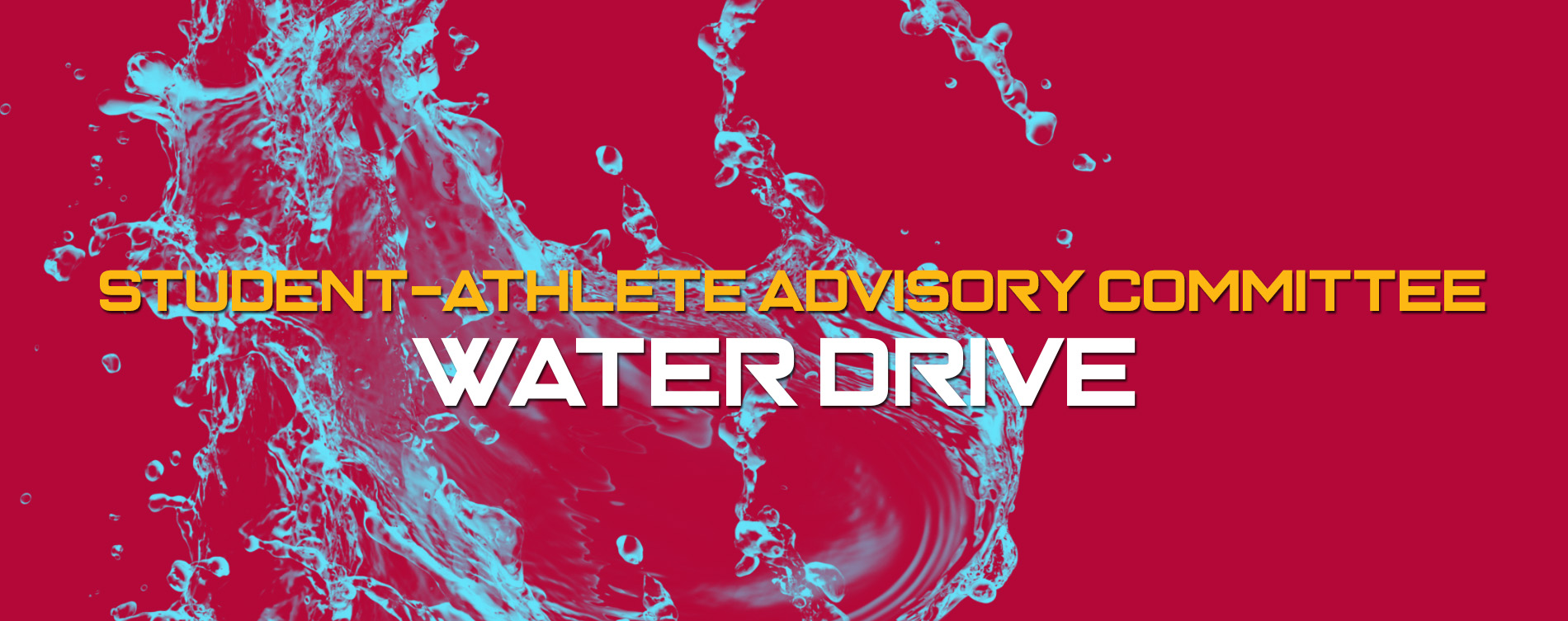 Austin College SAAC Water Drive Starts This Weekend!