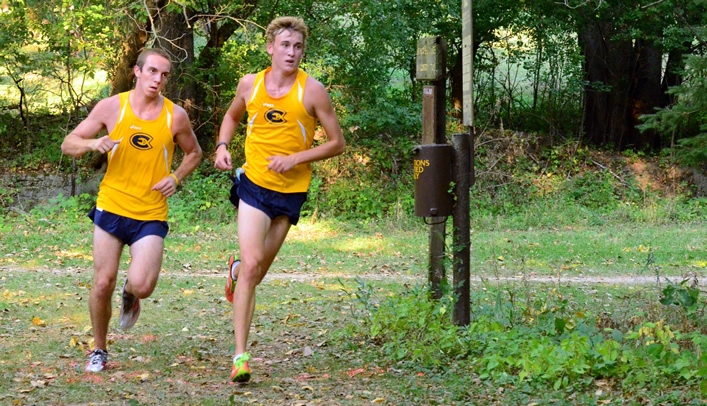 Men's Cross Country Takes Second at Saint Mary's Invite