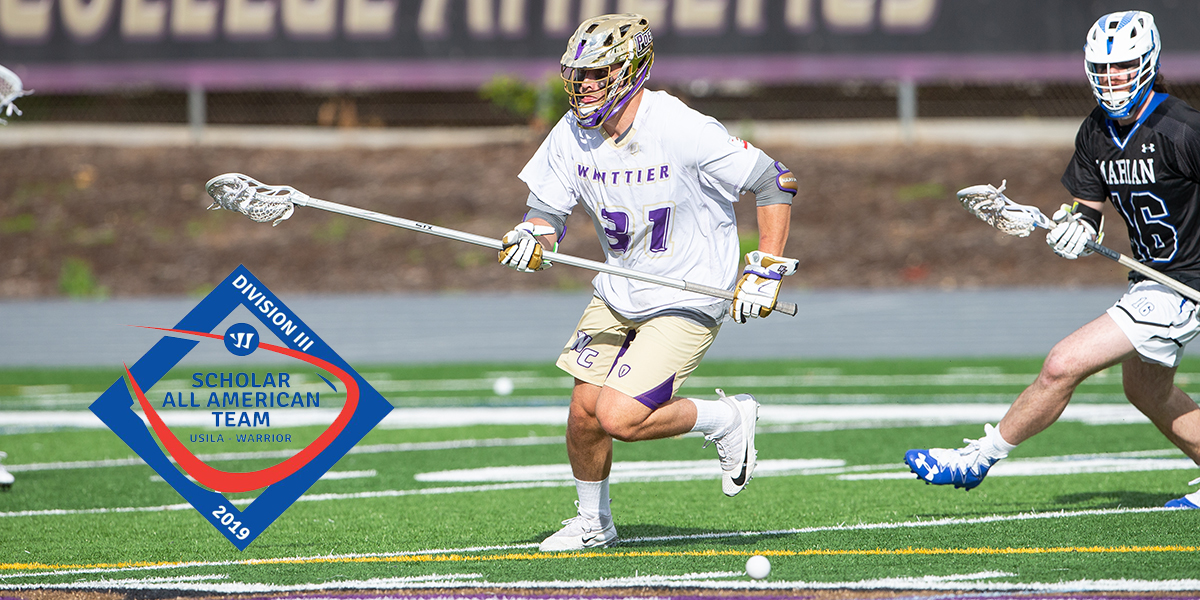 Max Lepley named USILA Scholar All-American