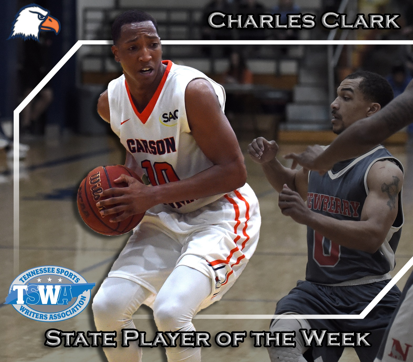 Awards roll in for Clark, junior named TSWA Player of the Week