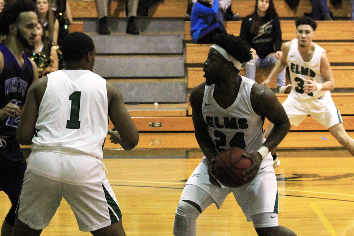 Brown's 27-Point Outburst Powers Blazers To 84-71 Win Over Lesley