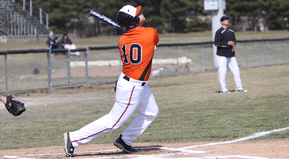 Baseball nipped by DePauw