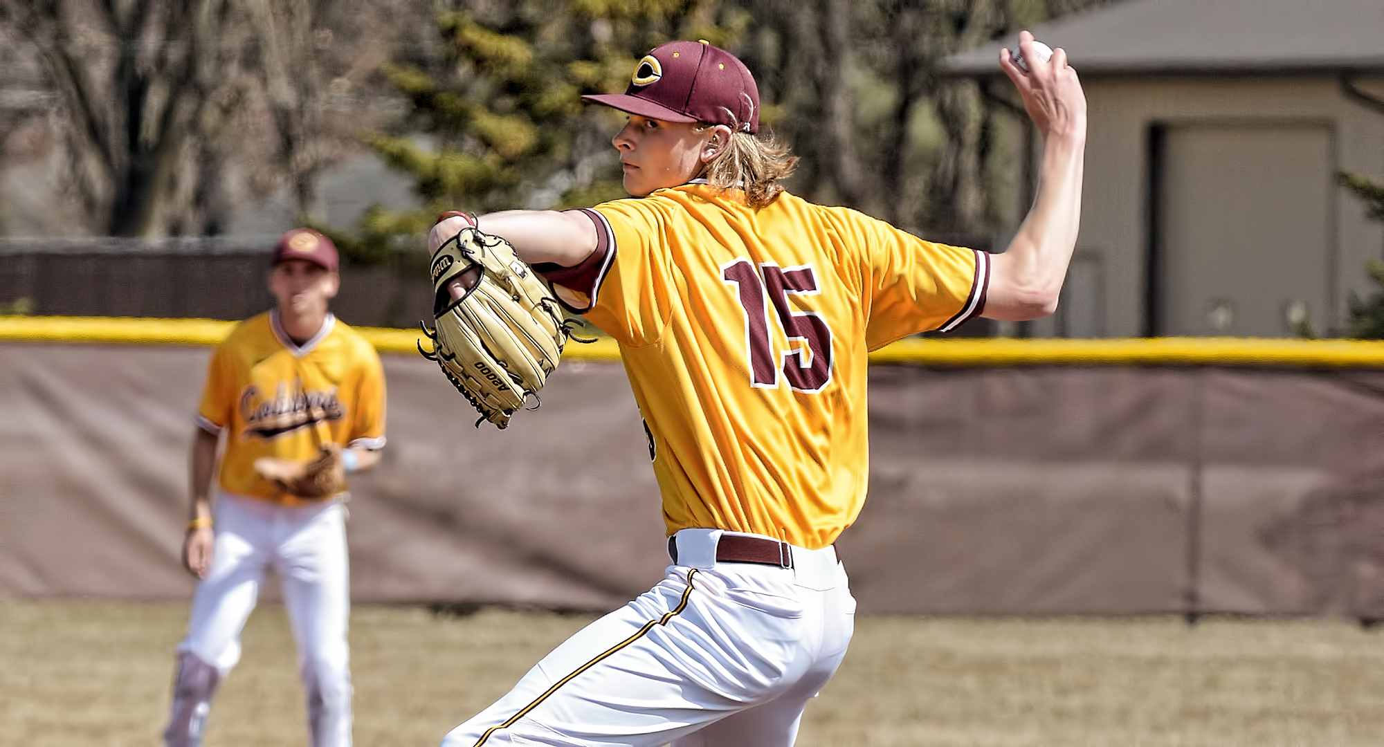 Junior pitcher Ty Syverson pitched 6.0 scoreless innings and recorded his second win in Florida as the Cobbers beat Beloit 4-0 in the second game to earn a split in the DH.