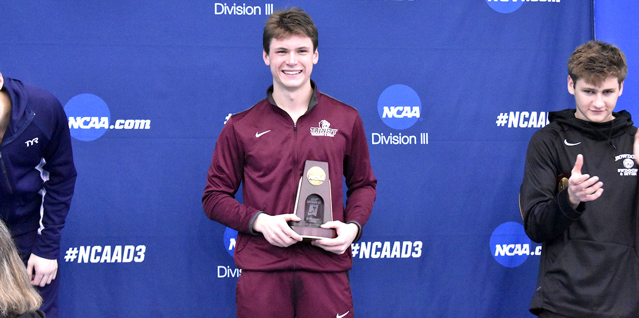 Valmassei Honored as All-American in Men's Diving