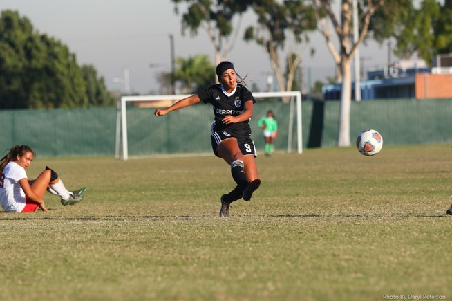 File Photo: Itzel Ballesteros was one of three Falcons to be named All-American