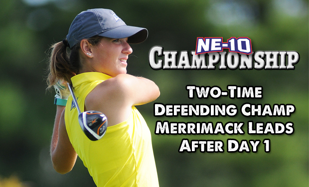 Knight, Merrimack Out In Front After Day 1 of NE-10 Women's Golf Championship