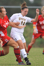 Sarah Kopytko's first career goal gave UMBC a brief 1-0 lead.