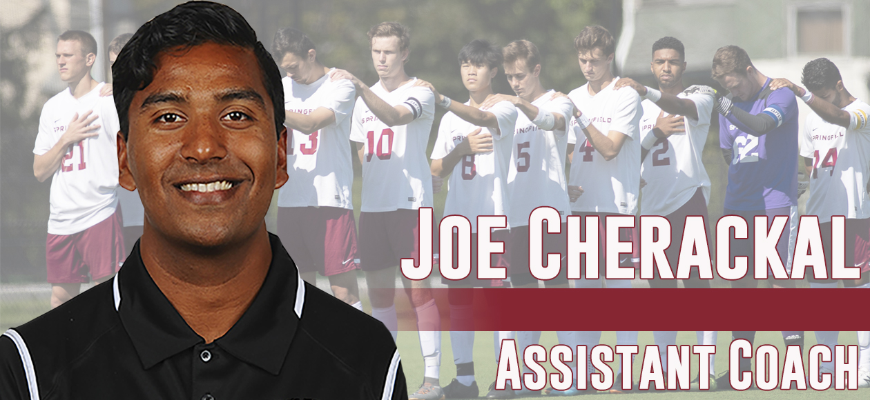 Cherackal Named Full-Time Assistant Men's Soccer Coach at Springfield College