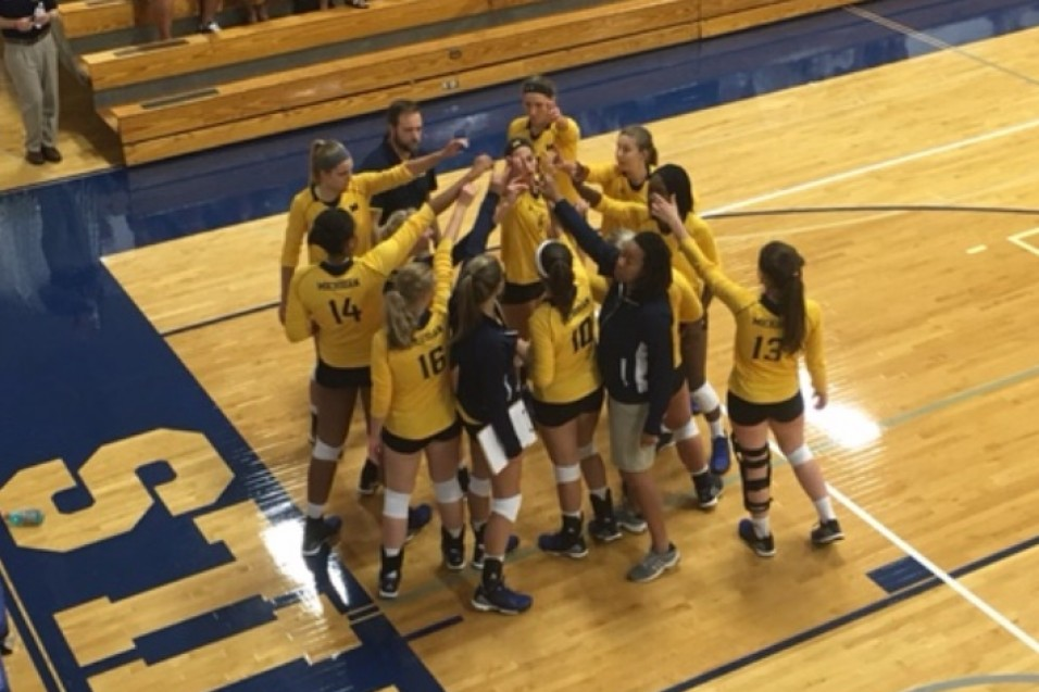 Photo for Volleyball Drops Two at Earlybird Tourney