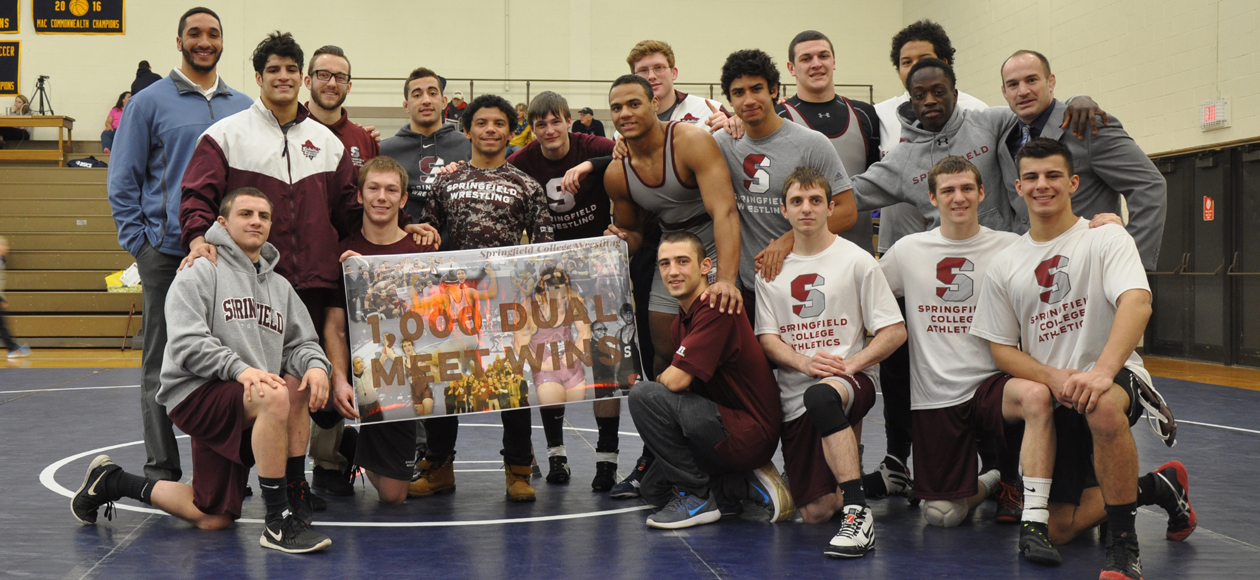 Wrestling Earns 1000th Dual Meet Victory at Budd Whitehill Duals