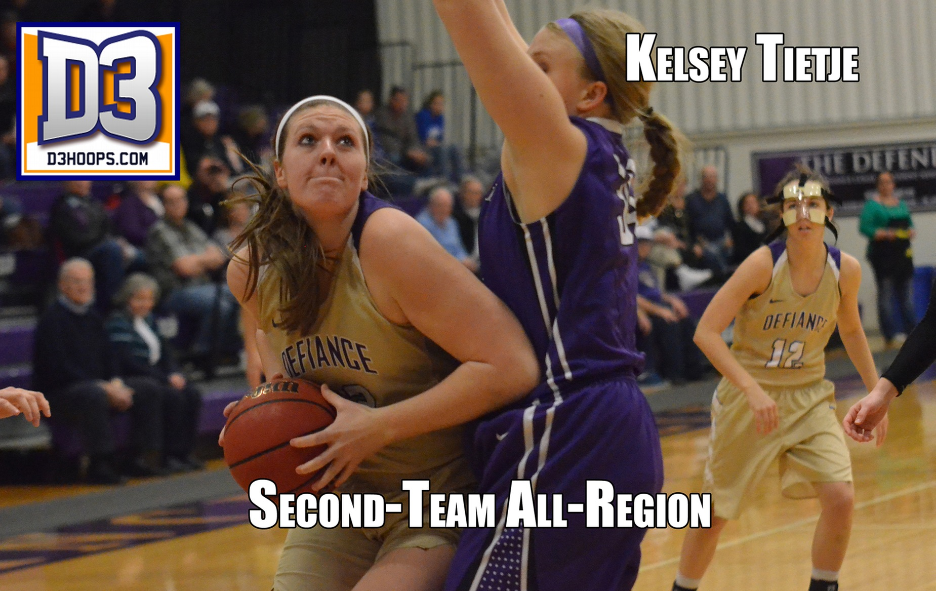 DC's Kelsey Tietje Named Second-Team All-Region By D3hoops