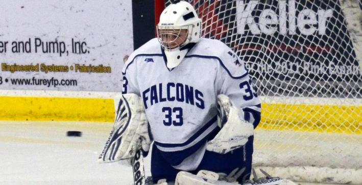 Evans sets record with 56 saves, Women's Hockey loses at No. 7 Lake Forest