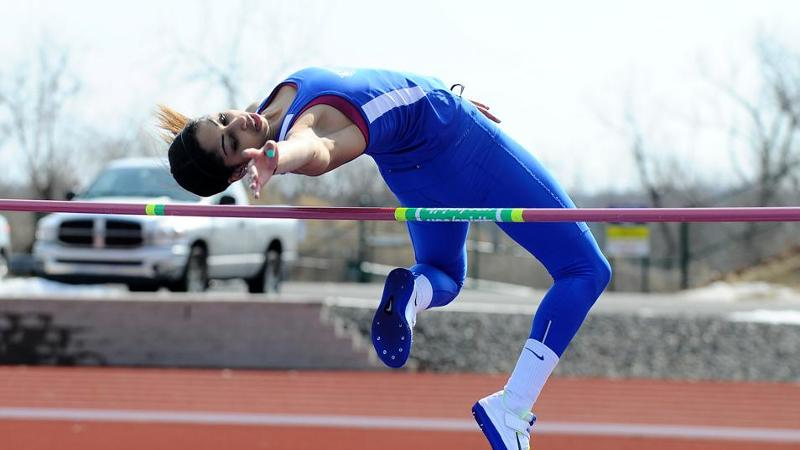 Saunders Tabbed NEC Field Athlete of the Week