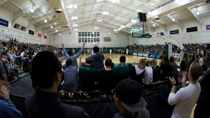 OVERFLOW CROWD TREATED TO MEN'S HOOPS 75-59 VICTORY VS. MONTANA STATE