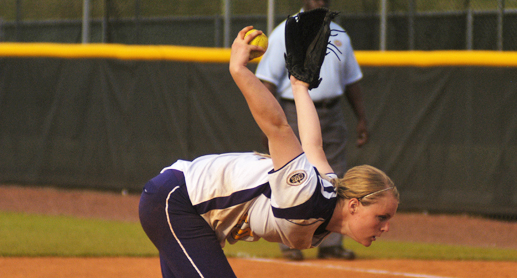 Holly Thomas deals near-perfect game as Tech splits at TSU